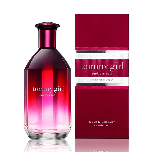 TOMMY GIRL ENDLESS RED EDT 100 ML - TOMMY HILFIGER