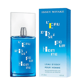 LEAU D' ISSEY POUR HOMME SUMMER EDT 125 ML - ISSEY MIYAKE