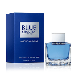 BLUE SEDUCTION FOR MEN EDT 100 ML - ANTONIO BANDERAS