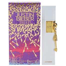THE KEY EDP 100 ML - JUSTIN BIEBER (CAJA SIN CELOFAN)