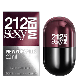 212 SEXY MEN EDT 20 ML - CAROLINA HERRERA