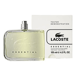 ESSENTIAL HOMME EDT 125 ML TESTER (PROBADOR) SIN TAPA  - LACOSTE