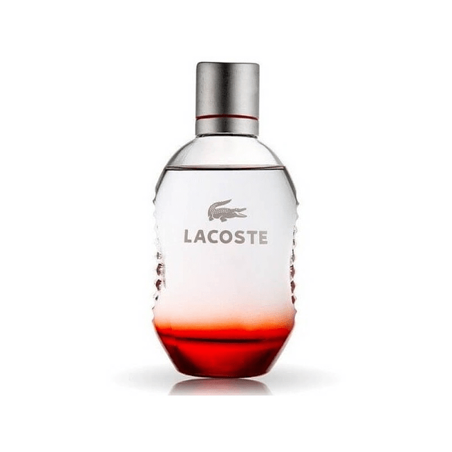 LACOSTE RED EDT 125 ML TESTER SIN TAPA - LACOSTE