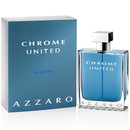 CHROME UNITED EDT 100 ML - AZZARO