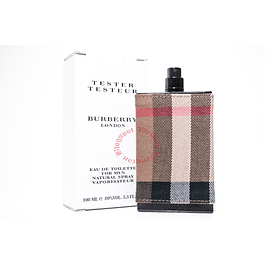 LONDON MEN EDT 100 ML TESTER - BURBERRY