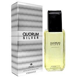 QUORUM SILVER edt 100 ML - PUIG