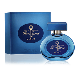 HER SECRET NIGHT EDT 80 ML- ANTONIO