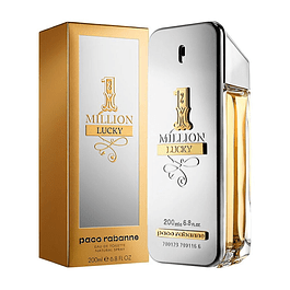 1 MILLION LUCKY EDT 200 ML - PACO RABANNE