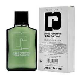 PACO RABANNE POUR HOMME EDT 100 ML TESTER - PACO RABANNE