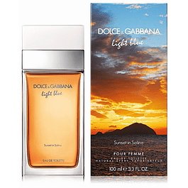 LIGHT BLUE SUNSET IN SALINA EDT 100 ML - DOLCE & GABBANA