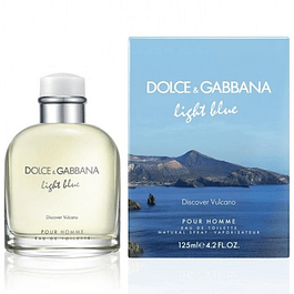LIGHT BLUE HOMME DISCOVER VULCANO EDT 125 ML - DOLCE & GABBANA