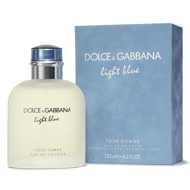 LIGHT BLUE HOMME EDT 125 ML - DOLCE & GABBANA