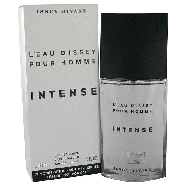 LEAU D ISSEY INTENSE HOMME EDT 125 ML TESTER (PROBADOR ) SIN TAPA -ISSEY MIYAKE