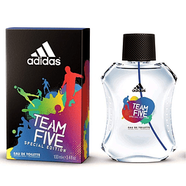 TEAM FIVE EDT 100 ML - ADIDAS