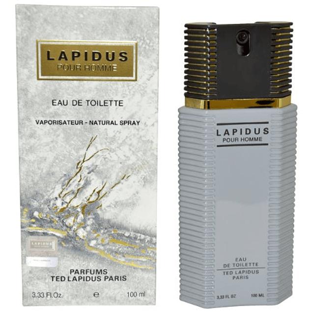 LAPIDUS POUR HOMME EDT 100 ML - TED LAPIDUS