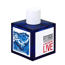 LACOSTE LIVE COLLECTOR'S BOTTLE  EDT 100 ML TESTER (PROBADOR) - LACOSTE
