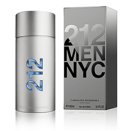 212 MEN EDT 100 ML - CAROLINA HERRERA