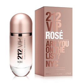 212 VIP ROSE EDP 80 ML - CAROLINA HERRERA