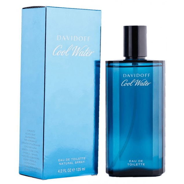 COOL WATER MEN EDT 125 ML - DAVIDOFF