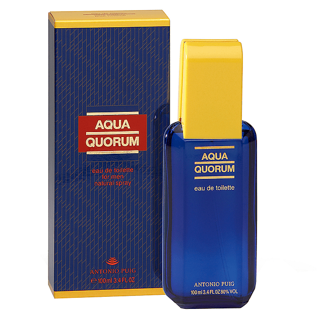 AQUA QUORUM EDT 100 ML - PUIG