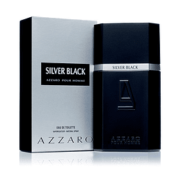 SILVER BLACK EDT 100 ML - AZZARO