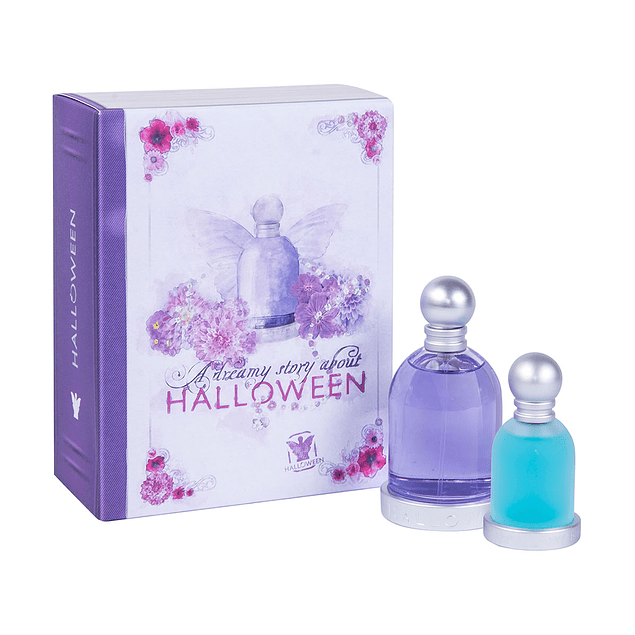 HALLOWEEN EDT 100 ML + BLUE DROP EDT 30 ML ESTUCHE - HALLOWEEN