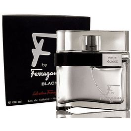 F BY FERRAGAMO BLACK POUR HOMME EDT 100 ML - SALVATORE FERRAGAMO