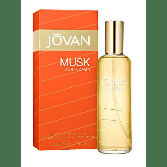 JOVAN MUSK FOR WOMEN COLONGE CONCENTRATE 96 ML - JOVAN
