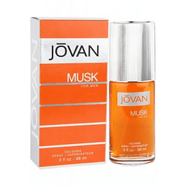 JOVAN MUSK FOR MEN COLONGE 88 ML - JOVAN