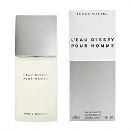 L'EAU D'ISSEY  POUR HOMME EDT 125 ML - ISSEY MIYAKE