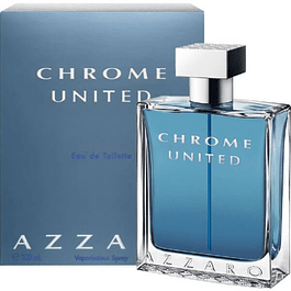 CHROME UNITED EDT 50 ML - AZZARO