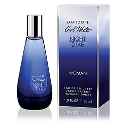 COOL WATER NIGHT DIVE WOMEN EDT 30 ML - DAVIDOFF