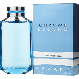 CHROME LEGEND EDT 125 ML - AZZARO