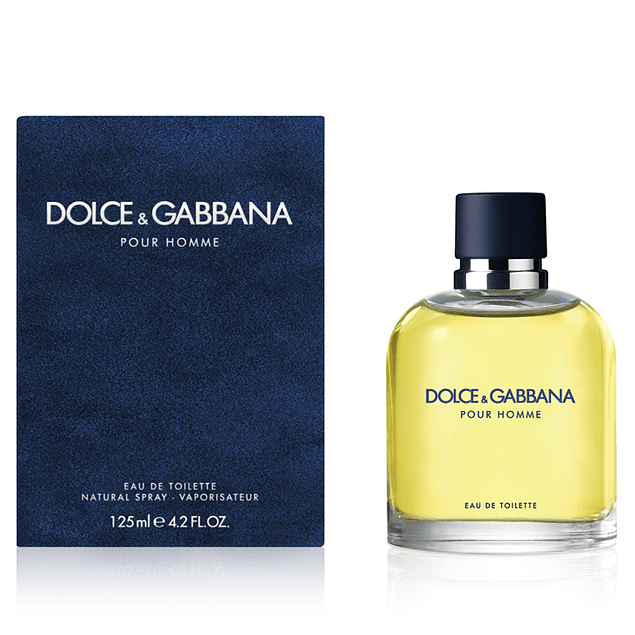 DOLCE POUR HOMME EDT 125 ML - DOLCE & GABBANA