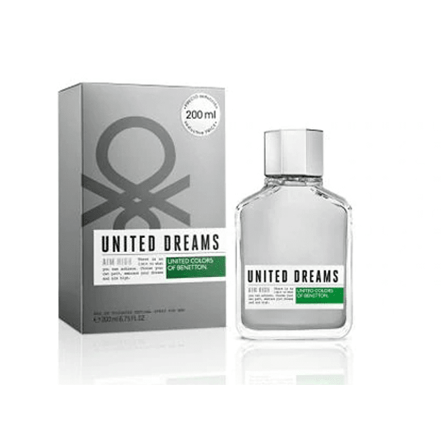 UNITED DREAMS AIM HIGH EDT 200 ML - BENETTON