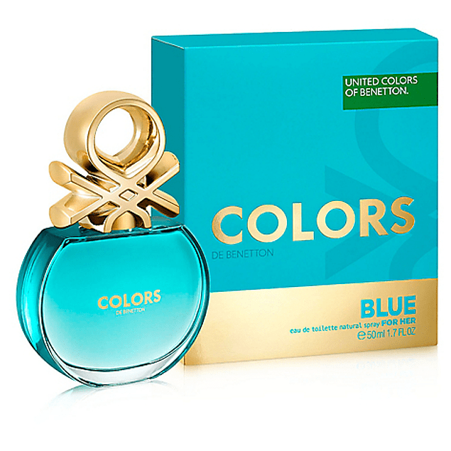 COLORS BLUE EDT 50 ML - BENETTON