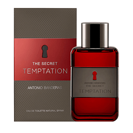 THE SECRET TEMPTATION EDT 50 ML - ANTONIO BANDERAS