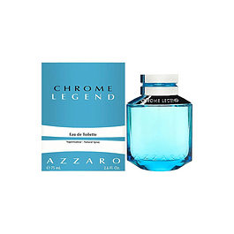 CHROME LEGEND EDT 75 ML - AZZARO