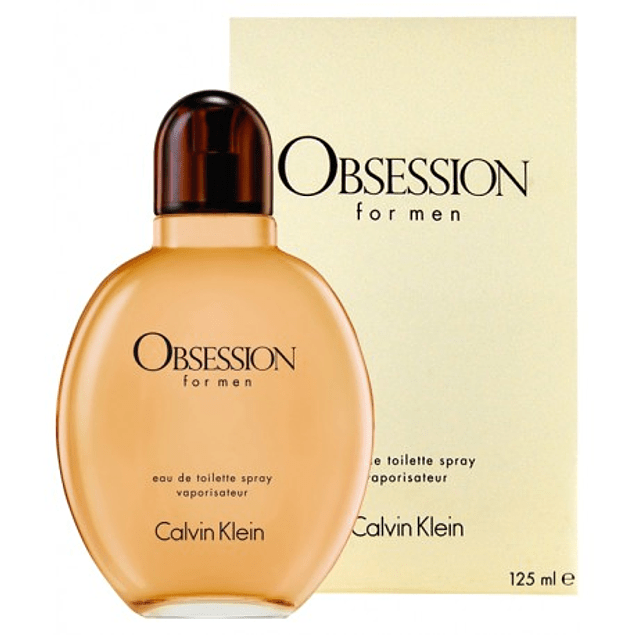 OBSESSION FOR MEN EDT 125 ML - CALVIN KLEIN