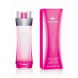 TOUCH OF PINK EDT 50 ML - LACOSTE