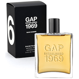 GAP ESTABLISHED 1969 MAN EDT 100 ML - GAP