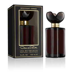 OSCAR MIDNIGHT AMBER EDT 100 ML - OSCAR DE LA RENTA