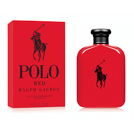POLO RED EDT 125 ML - RALPH LAUREN