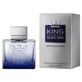 KING OF SEDUCTIO EDT 100 ML - ANTONIO BANDERAS