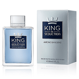 KING OF SEDUCTIO EDT 200 ML - ANTONIO BANDERAS