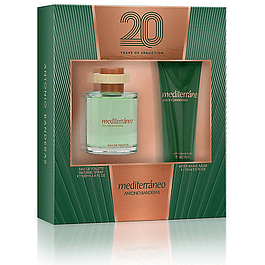 MEDITERRANEO EDT 100 ML + AFTER SHAVE 75 ML ESTUCHE - ANTONIO BANDERAS