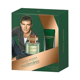 MEDITERRANEO EDT 50 ML + AFTER SHAVE 50 ML ESTUCHE - ANTONIO BANDERAS