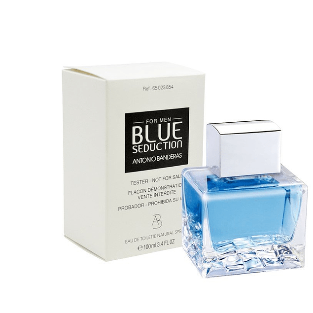 BLUE SEDUCTION FOR MEN EDT 100 ML TESTER (PROBADOR) - ANTONIO BANDERAS