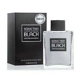 SEDUCTION IN BLACK EDT 200 ML - ANTONIO BANDERAS
