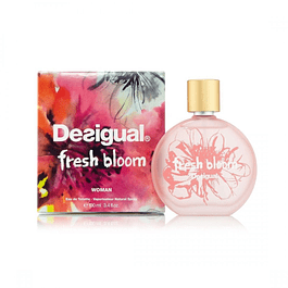 FRESH BLOOM WOMAN EDT 100 ML - DESIGUAL